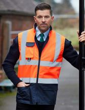 Hi-Vis Two-Tone Bodywarmer